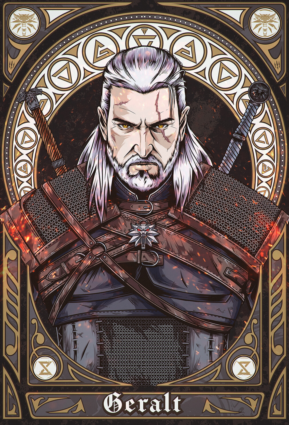 Photo of The Witcher 3 – Geralt, Jhony Caballero