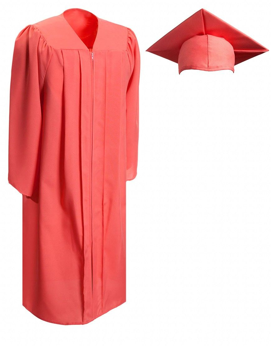 Matte Pink Cap & Gown | My Style | Pinterest | Cap, Gowns and Homeschool