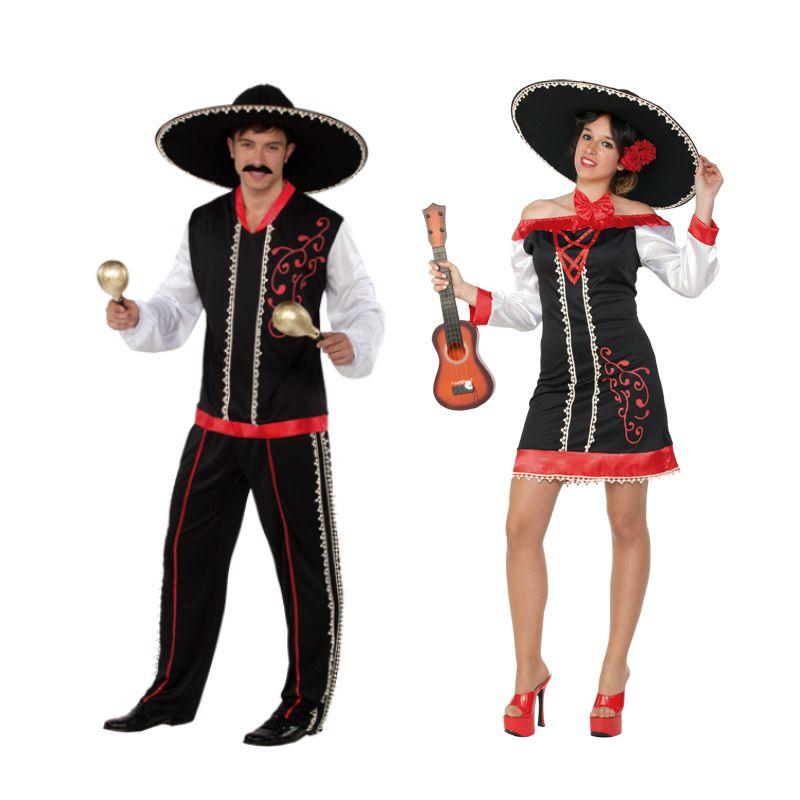 Déguisements Chanteurs Mariachis Déguisement Chanteuse Deguisement Mexicain Costume Mexicain