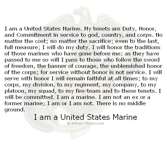I am a marine Marines Pinterest Marines and Semper fi - marine corps resume