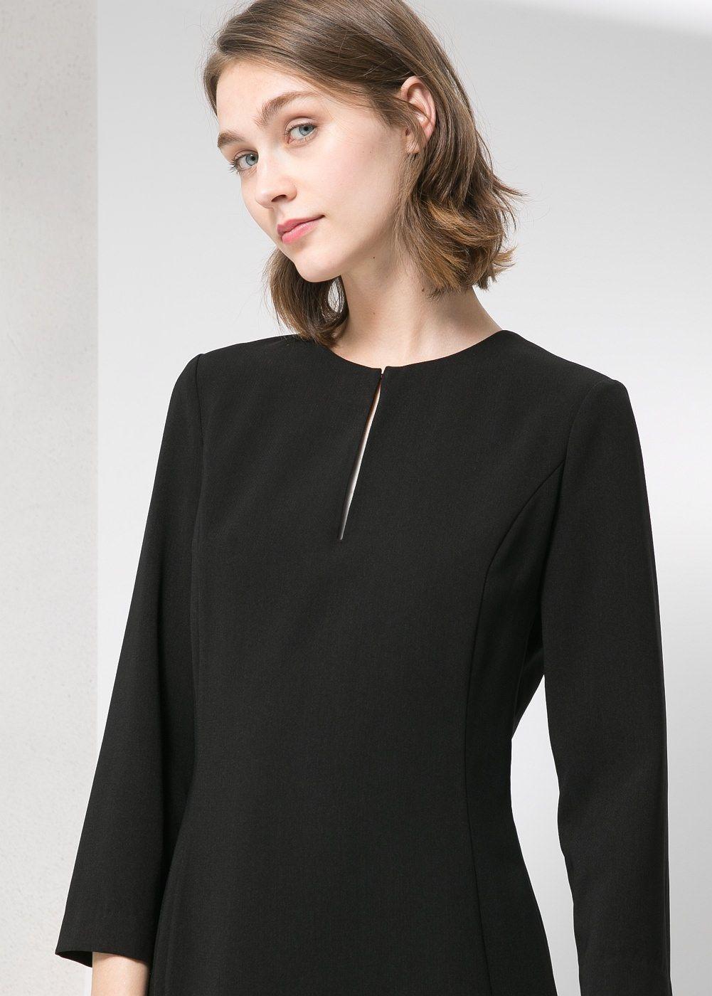 Kleid mit Rückeneinsatz