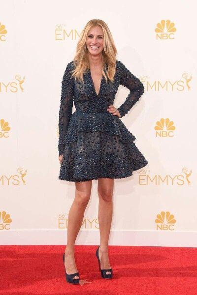 Favorite Emmy dresses. Julia Roberts in Elie Saab