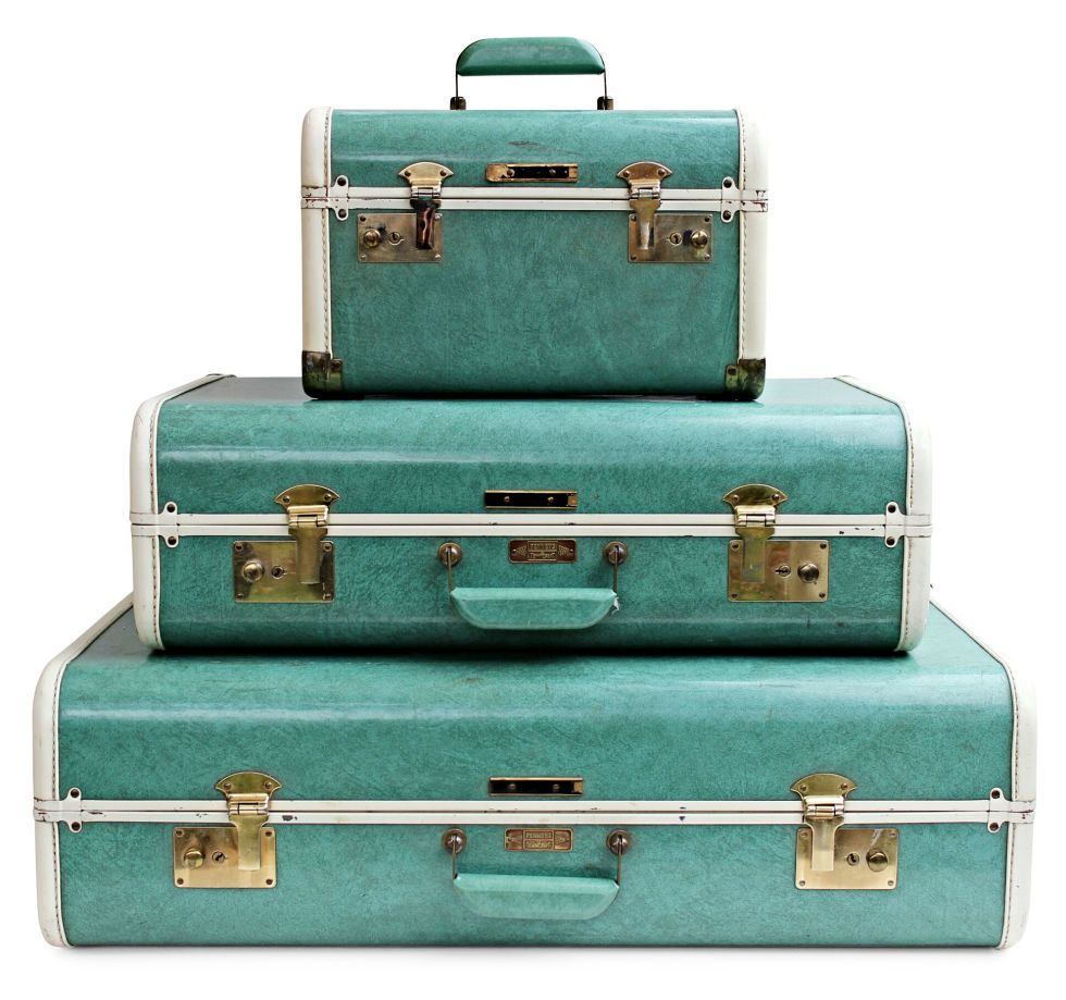 These Old Items Hiding In Your Attic Are Worth A Ton Of Money Today Old Luggage Vintage Luggage Vintage Suitcases