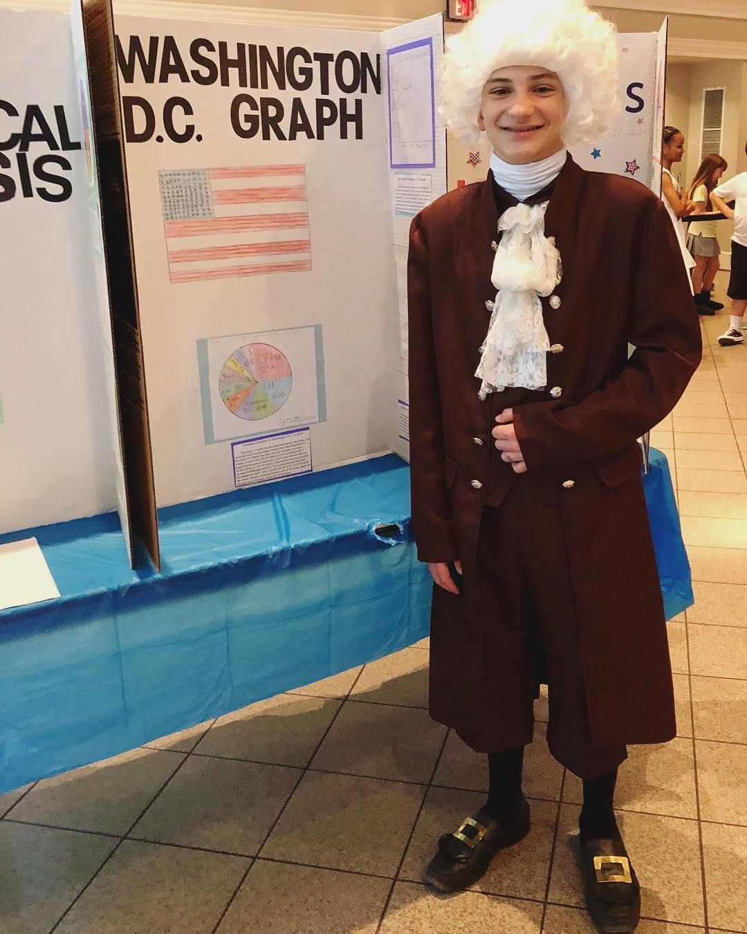 George Washington Costume Adult Men S Almost Black Halloween