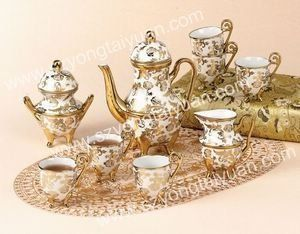 Victorian Tea Sets اواني الشاي طقم اكواب الشاهي اطقم Sugar Bowl Set Tea Party Bowl Set