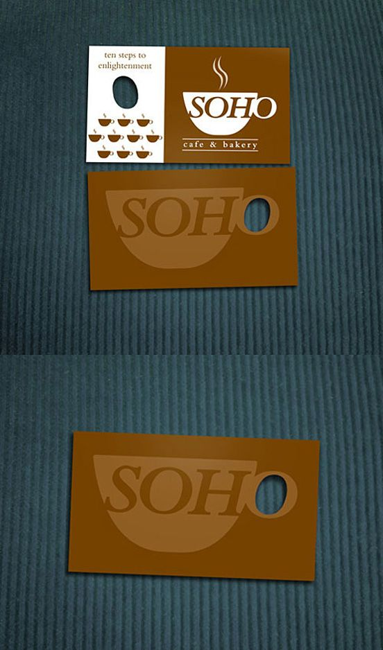 Soho Business card | Business Cards | Pinterest | Business cards ...