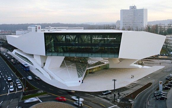 First Look: New Porsche Museum in Stuttgart