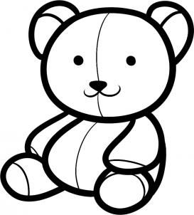 How To Draw A Teddy Bear For Kids Step By Step Animals For Kids For Kids Free Online Drawing In 2020 Teddy Bear Drawing Teddy Bear Coloring Pages Teddy Bear Sketch
