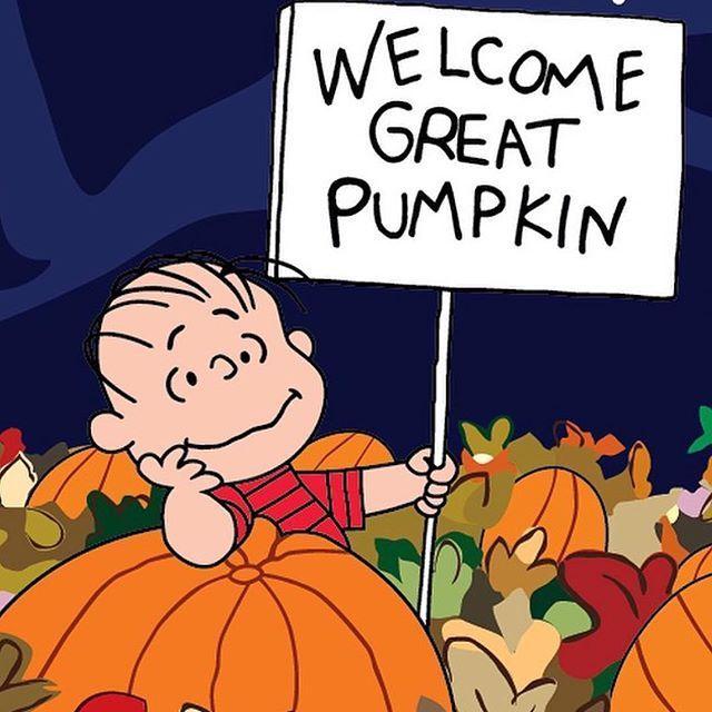 Welcome Great Pumpkin Yard Sign