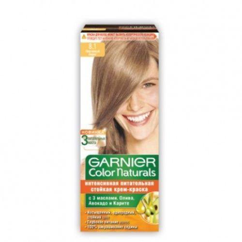 Garnier Color Natural Hair Color 8 1 Light Ash Blonde Natural