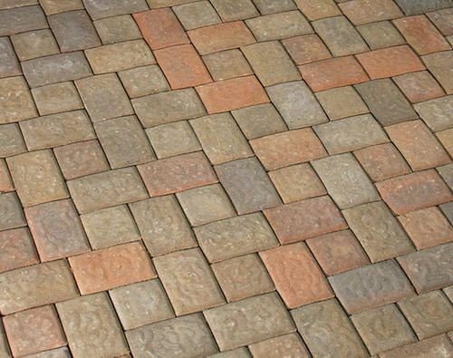 Beautiful 5 X X 2 Small Dutch Cobblestone Patio Paver At Menards
