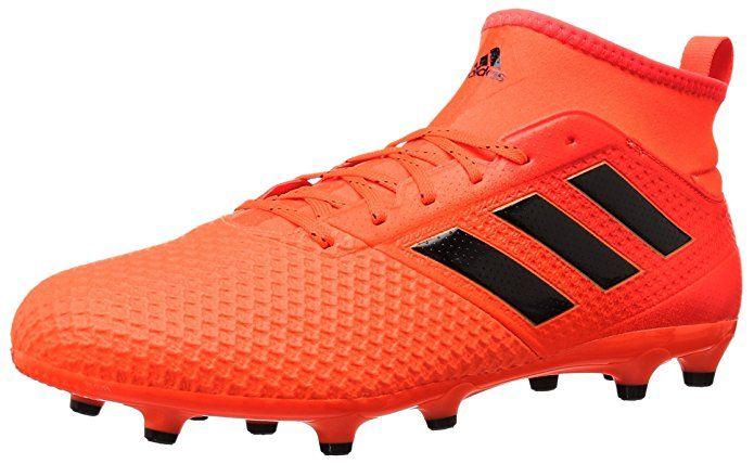 adidas Originals Men's Ace 17.3 FG Soccer Shoe, Solar Orange/Black ...