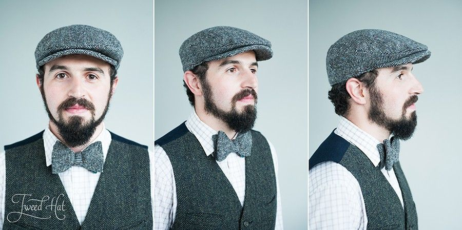 official photos meet release info on Grey Tweed Vintage Cap by Hanna Hats | Твид, Шляпа и ...