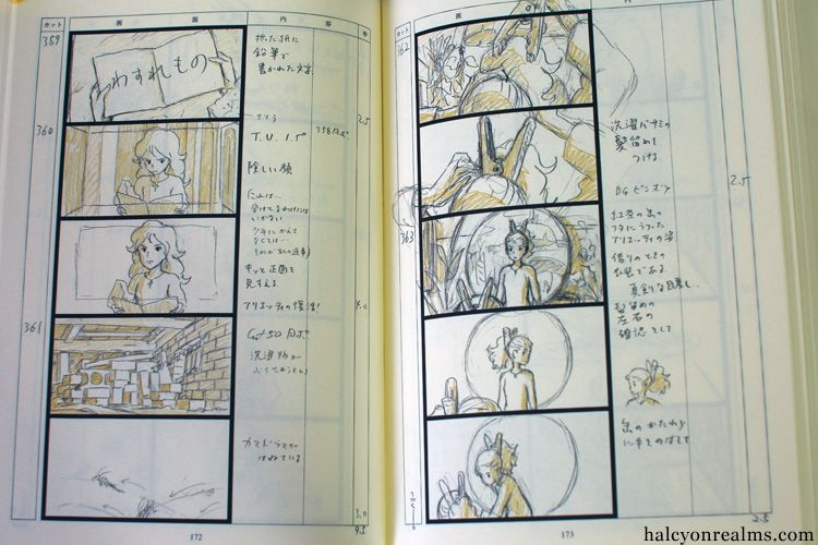 The Secret World Of Arrietty Studio Ghibli  Storyboards And Concept