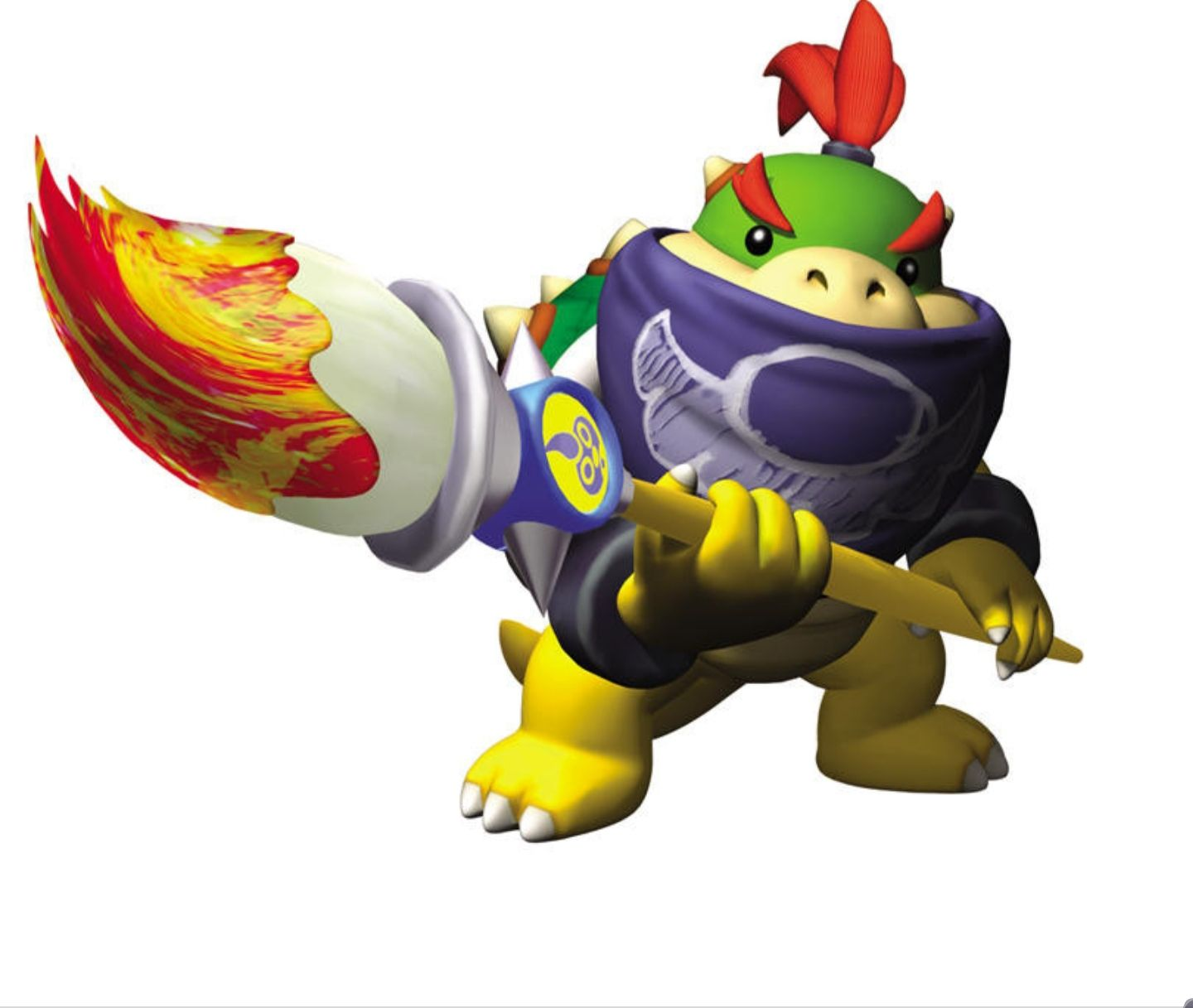 Help in making bowser jrs magic paintbrush with led
