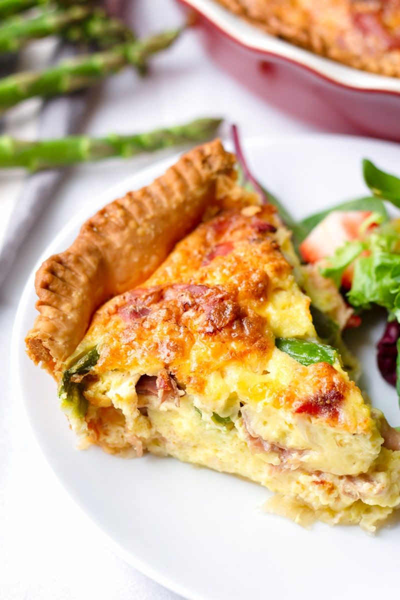 Asparagus Quiche With Prosciutto And Fontina Cooking For My Soul Recipe Quiche Recipes Easy Cooking Quiche