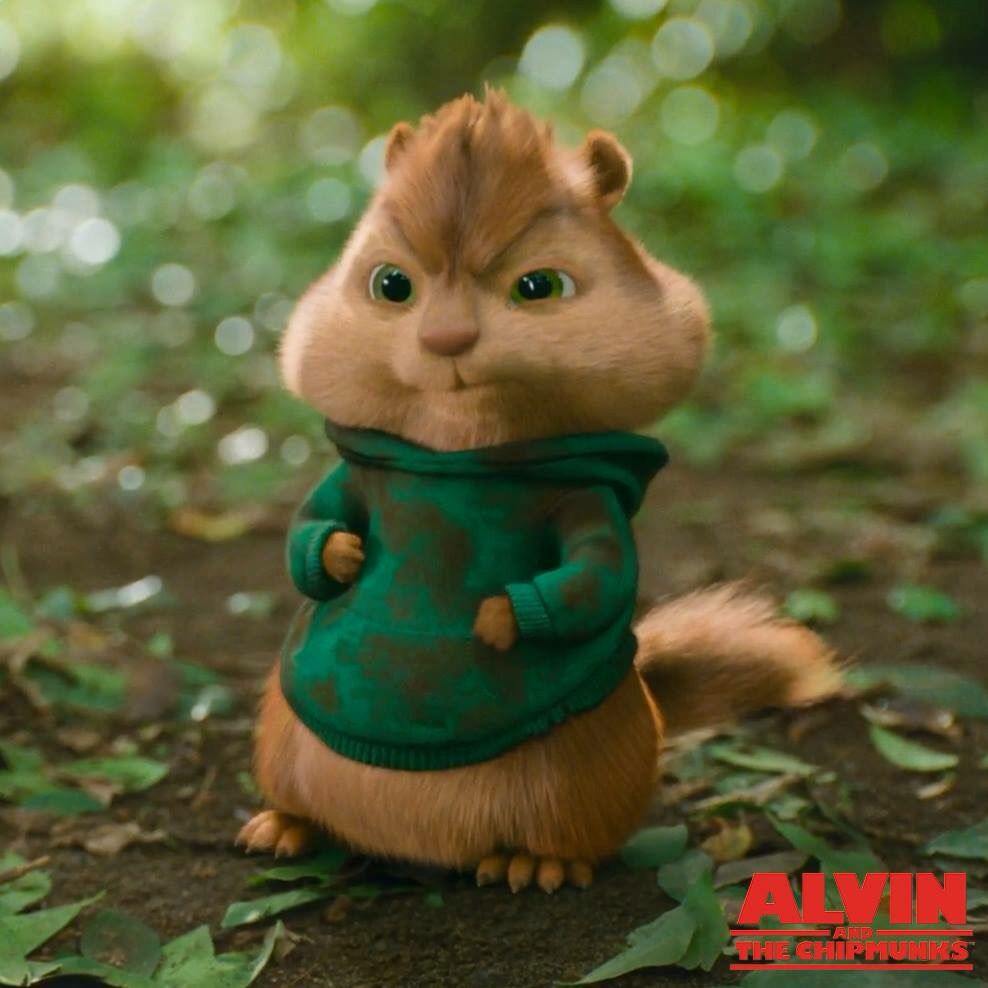 chipmunks theodore and the Alvin