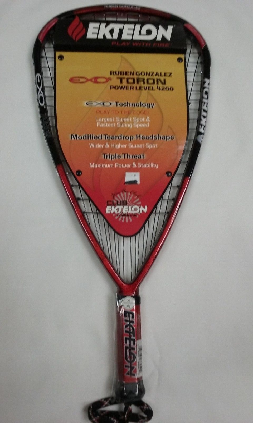 Racquetball ektelon exo rg toron lg grip ue buy it