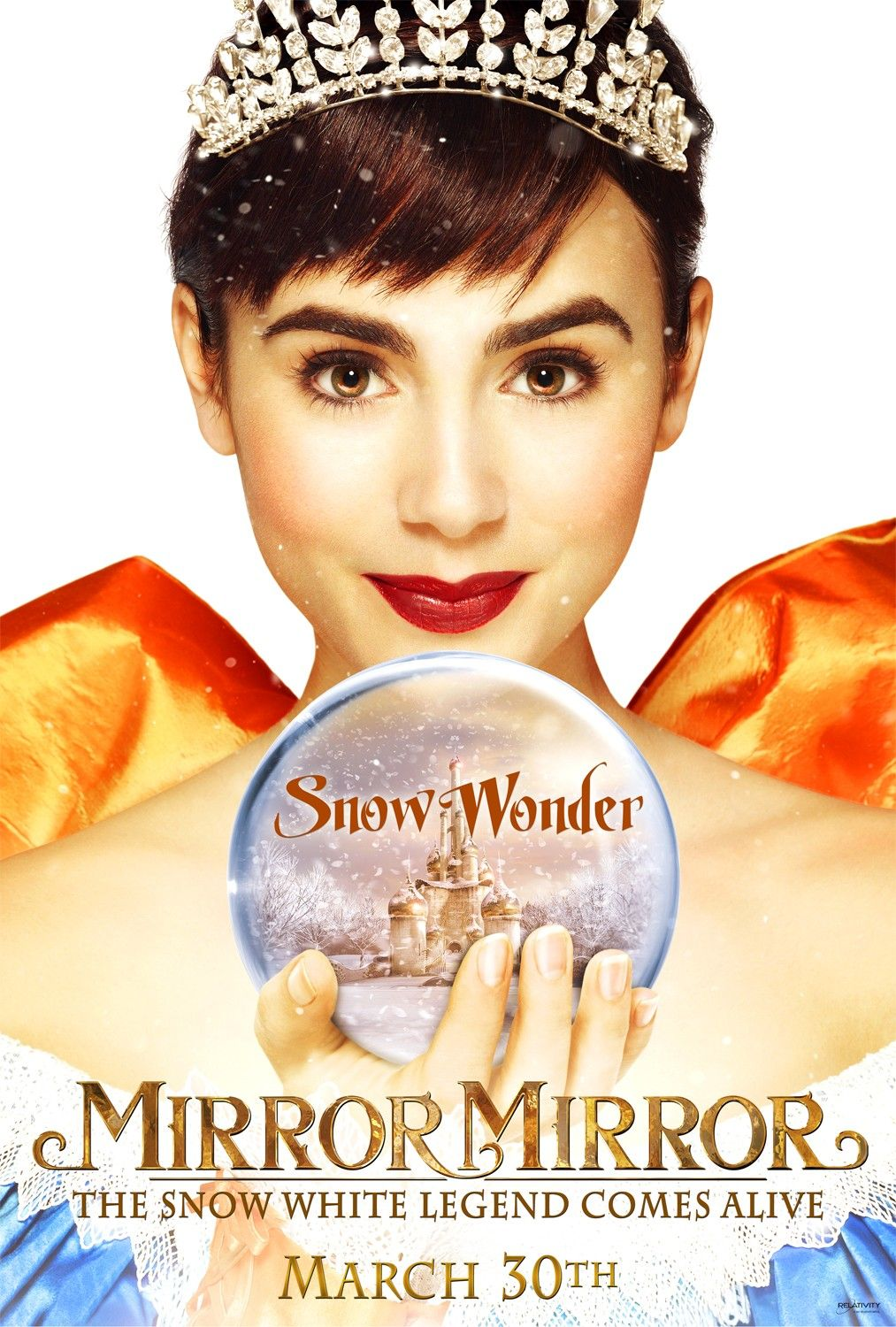 Mirror mirror sometimes plot feels very intended for kids but mirror mirror movie featuring julia roberts as the evil queen and new star lily collins from the blind side as snow white the movie can amipublicfo Choice Image