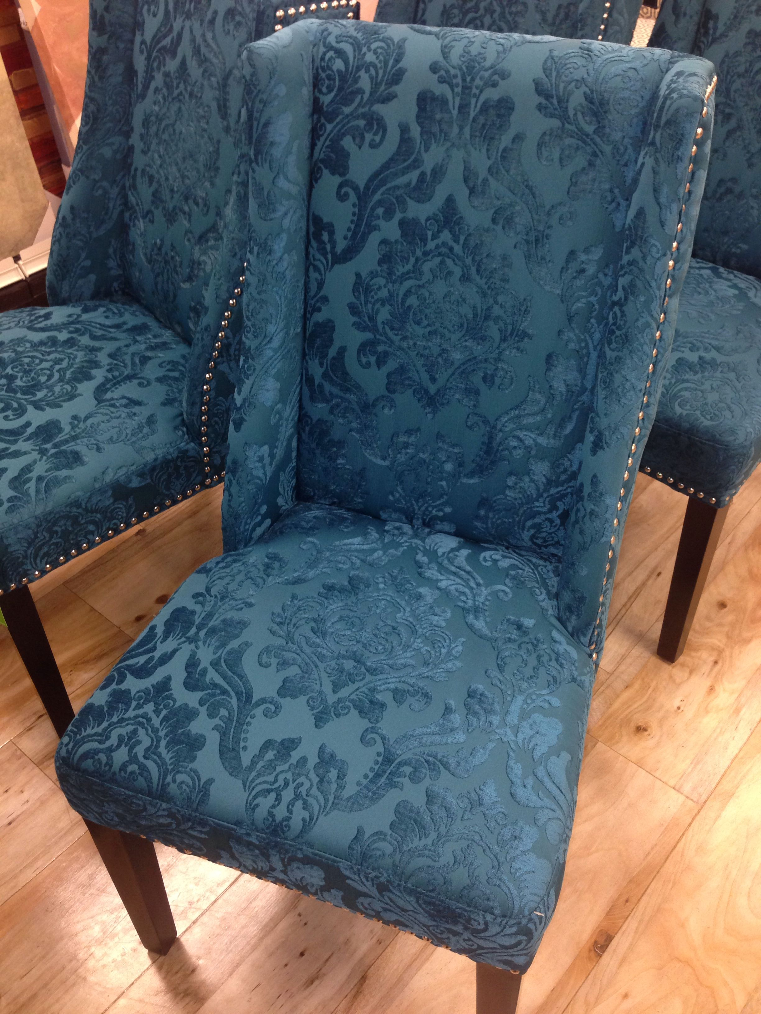 Cynthia Rowley Nailhead Accent Chair Chairs Folding Plastic Beautiful 149 Teal Deep Home Decor Accessories