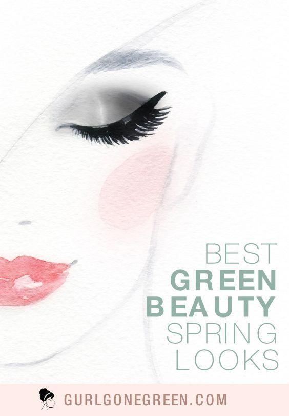 Spring Makeup Looks #organicmakeup