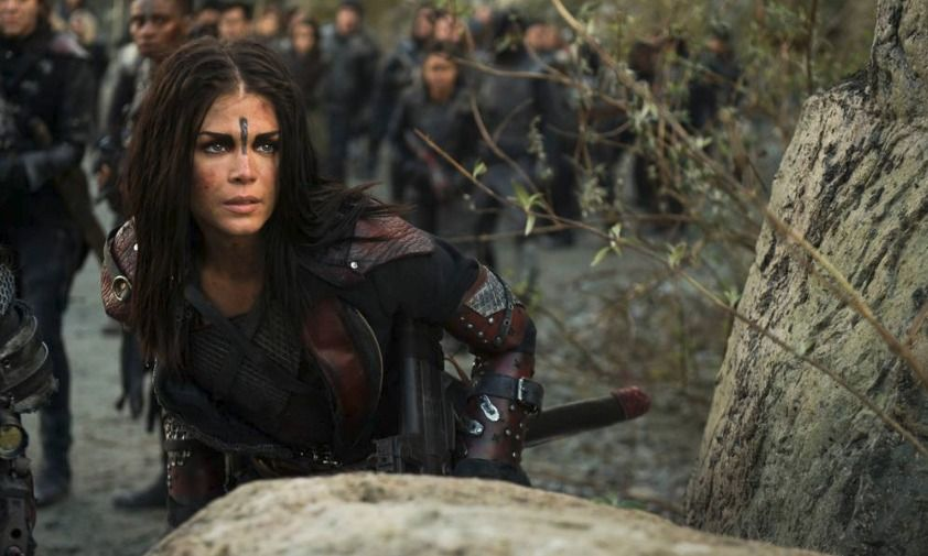 Five Moments That Defined Season 5 Of The 100 The 100 Marie Avgeropoulos The Cw