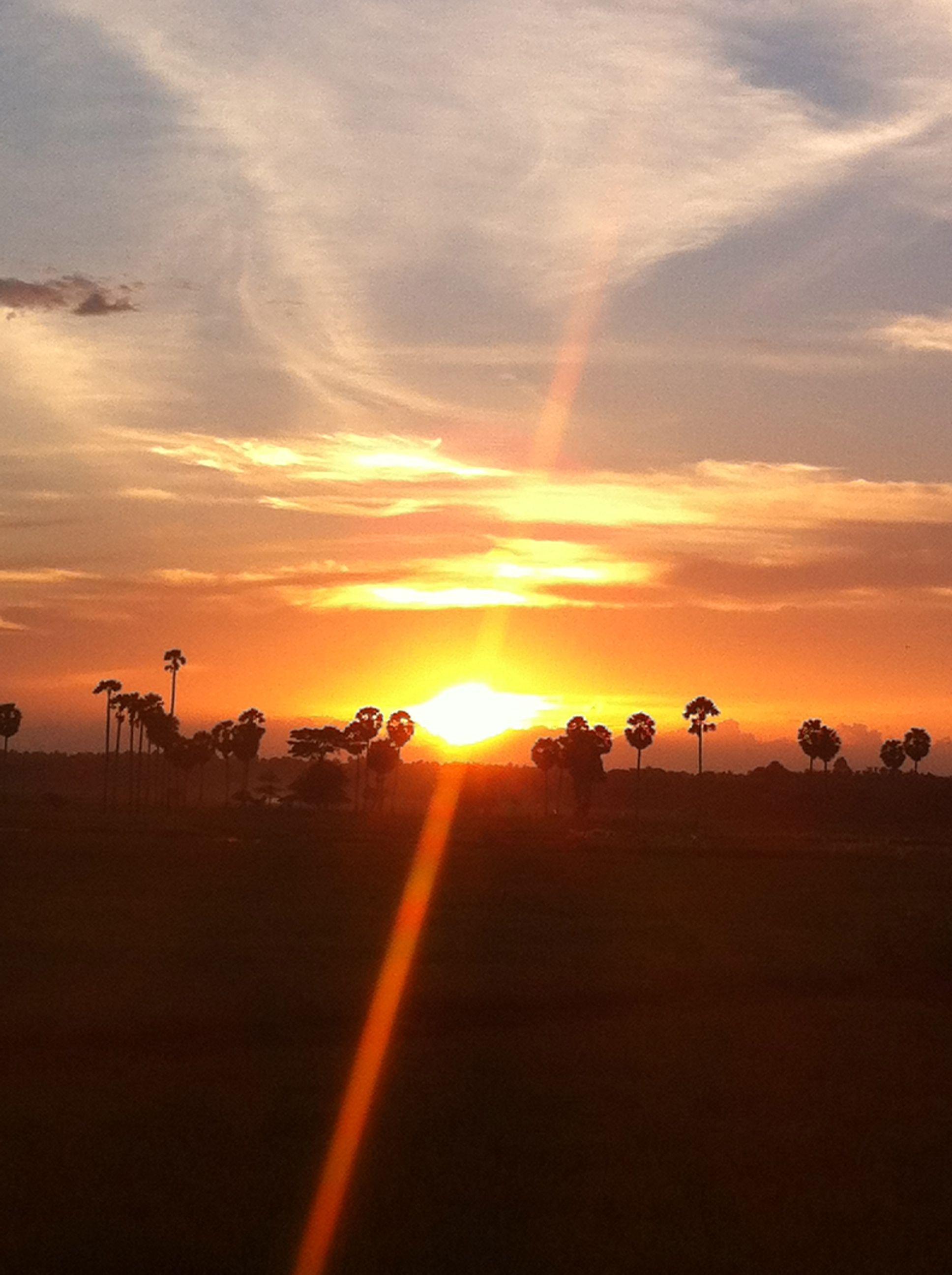 Sunset in Bone South Sulawesi