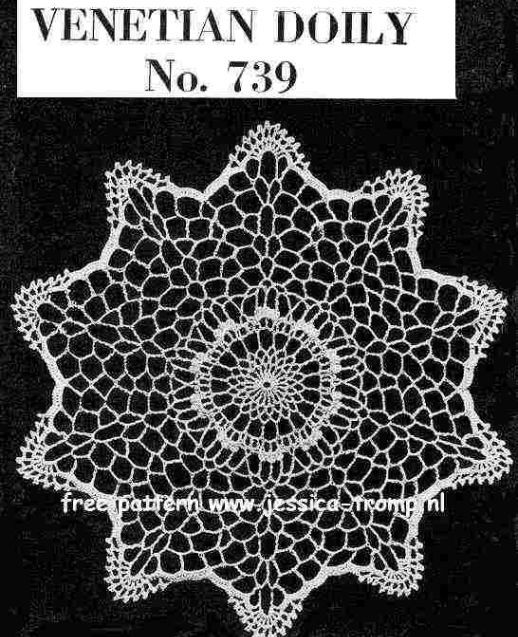 Doily Free Vintage Crochet Doilies Patterns Crochet Pinterest
