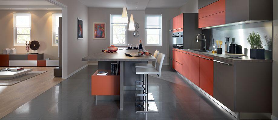 Idées Déco Pour Délimiter La Cuisine Ouverte Sur Le Salon - Image cuisine ouverte pour idees de deco de cuisine
