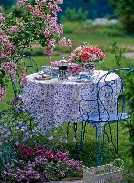 Petit Dejeuner Au Jardin Rp05 2019 Jardins Deco Exterieure