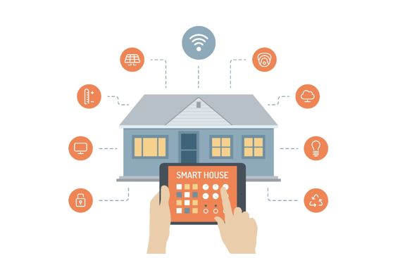 نظرة على تقنيات التحكم المنزلي Smart Home Technology Home Technology Smart Home Automation