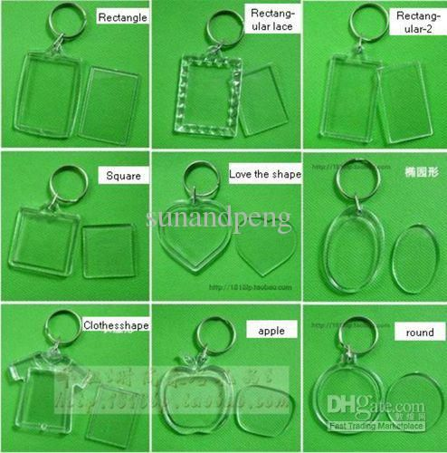 Wholesale Photo Keychain - Buy  acrylic Blank Photo Keychain Keyring ... dd673f7c74