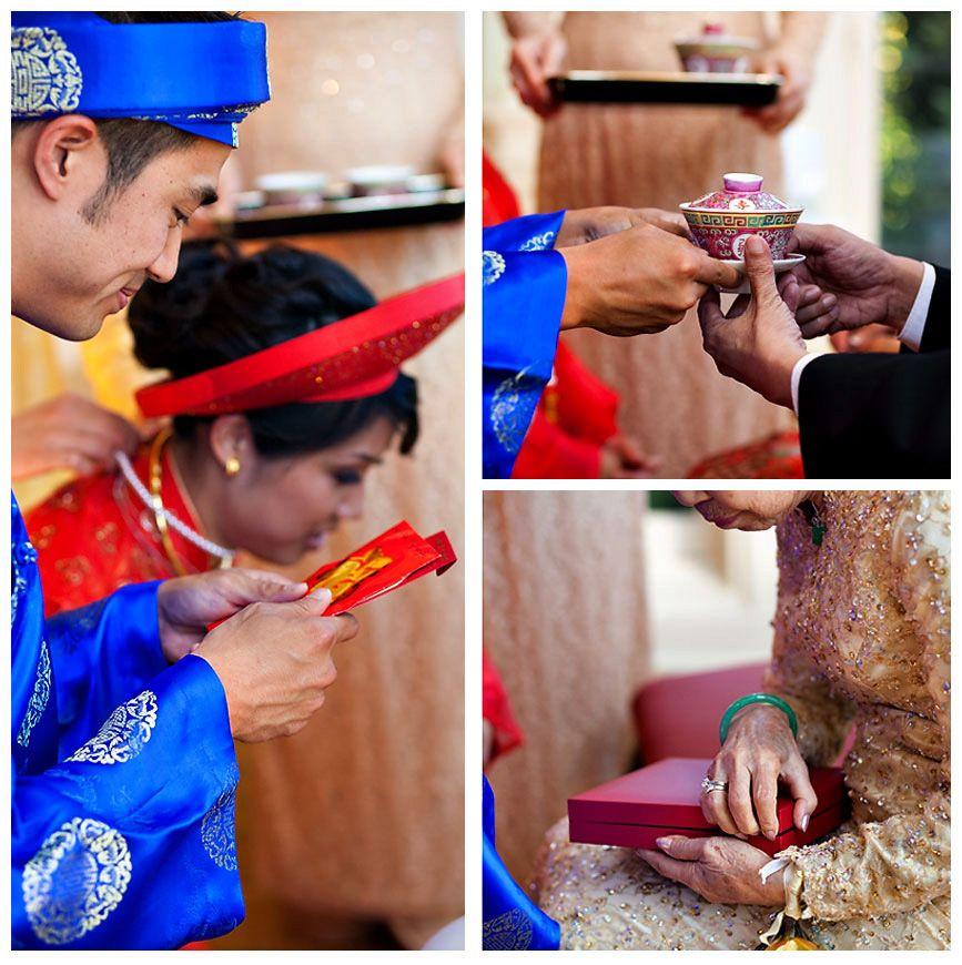 Vietnamese Wedding Altar: Vietnamese Tea Ceremony. Wedding Reception Traditions