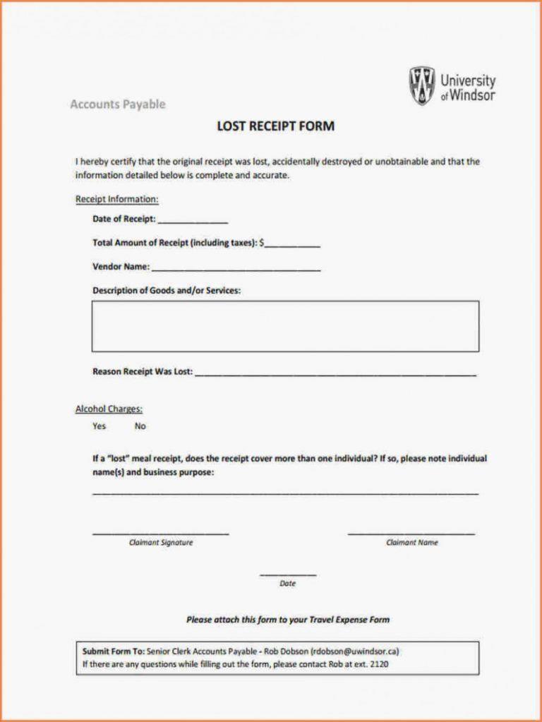 Lost Receipt Form Template Unique General Lost Receipt Template 45 Dts Lost Receipt Form Templates Address Label Template Receipt