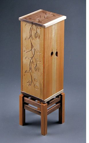 Furniture has carved designs with a Dremel!  Great idea for custom pieces!