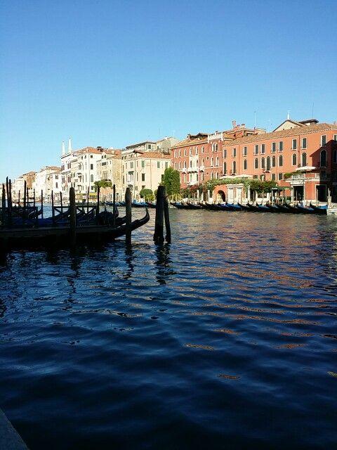 Venice near rialto bridge