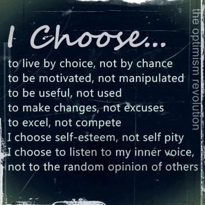 Independence...i choose..