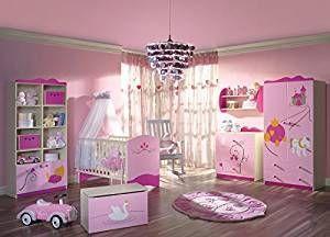Komplettes Babyzimmer im PrinzessinLook. Bestehend aus