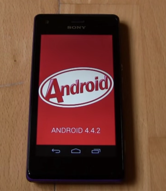 Owned a Sony Xperia M2, now its time to update it. Its a