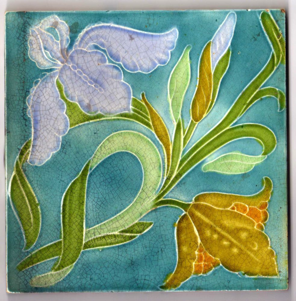 Pilkington C1905 Art Nouveau Tiles Art Nouveau Tiles Art Deco Tiles Art Nouveau