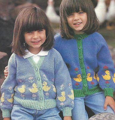 Girls Knitting Pattern DK 20 26