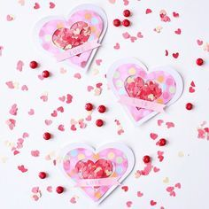 Double tap if youre excited for #Valentines day! It's right around the corner so head over to our blog for some inspiration. Link in bio #papercrafts #valentinesday #blitsy #happycrafting