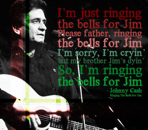 johnny cash ringing the bells for jim the 22 saddest christmas songs of all time deck the halls with anti depressants - Saddest Christmas Songs