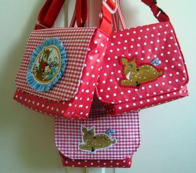 Alpenschick: Kindergartentasche, zweite Runde...