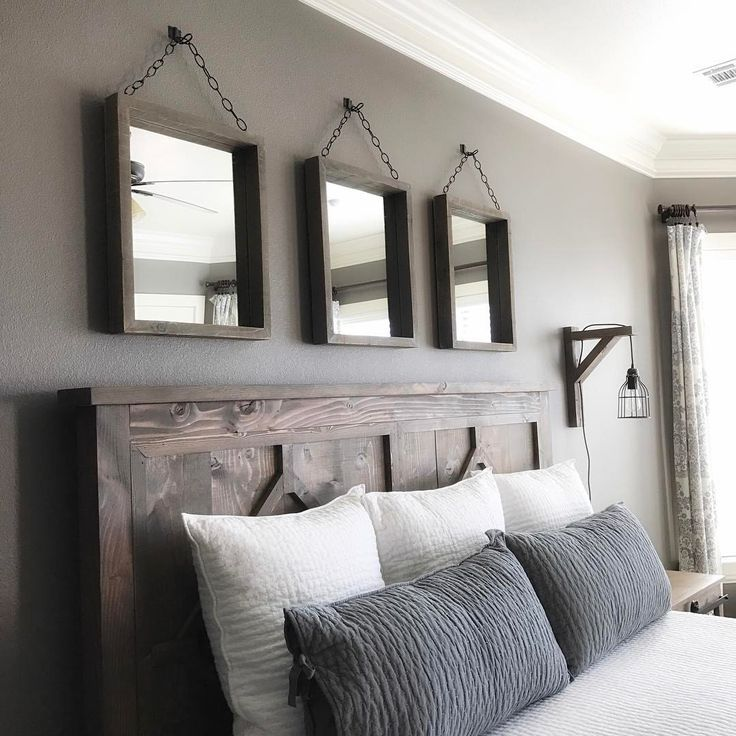 Love This Master Bedroom Home Decor Pinterest Master Bedroom Mirror And Headboards