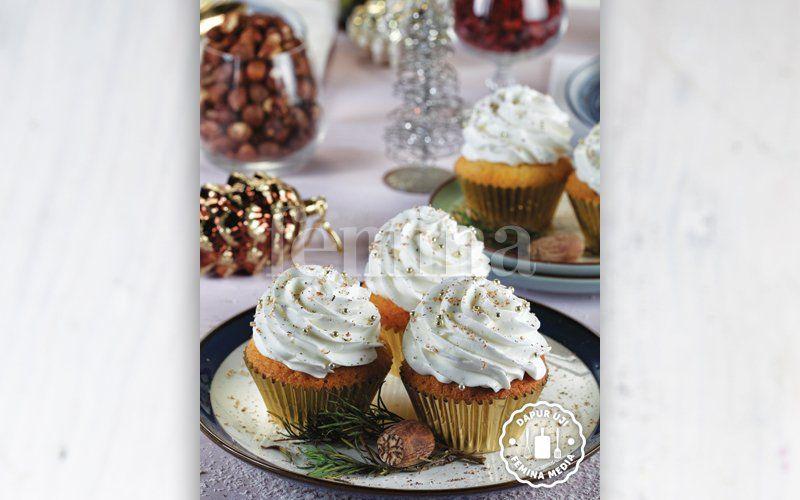 Resep Eggnog Cupcake