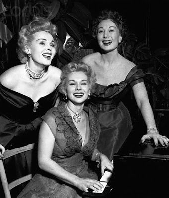 Zsa Zsa And Her Sisters Magda Ava Gabor