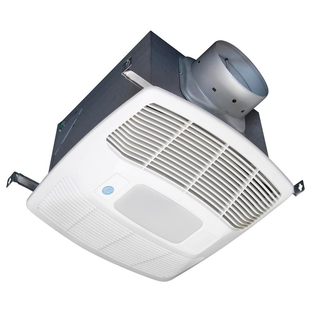 Air King White 150 Cfm Single Speed Motion Sensing 0 6 Sone Ceiling Exhaust Bath Fan With Led Light Energy Star Led Lit Housses