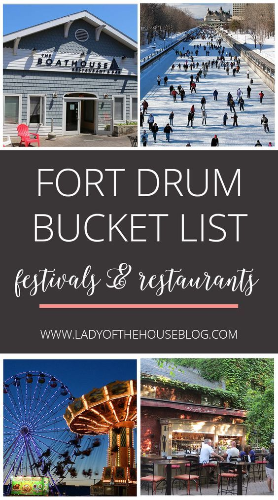 Fort Drum Bucket List | Military life | Fort drum, Fort drum