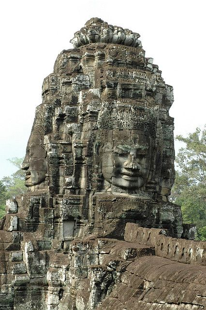 Face Tower, Bayon, Cambodia